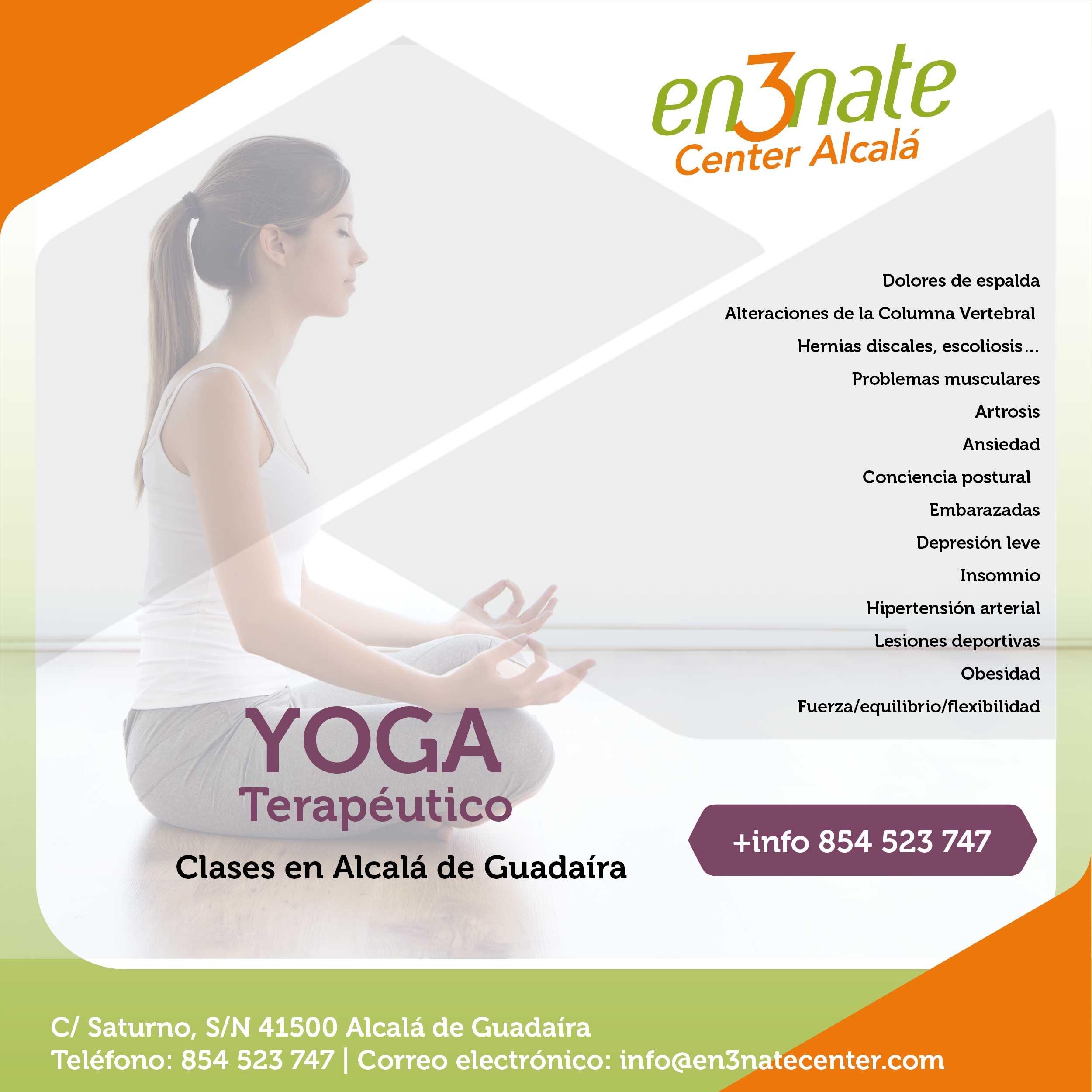 Clases de Yoga Terapéutico en Alcalá de Guadaíra