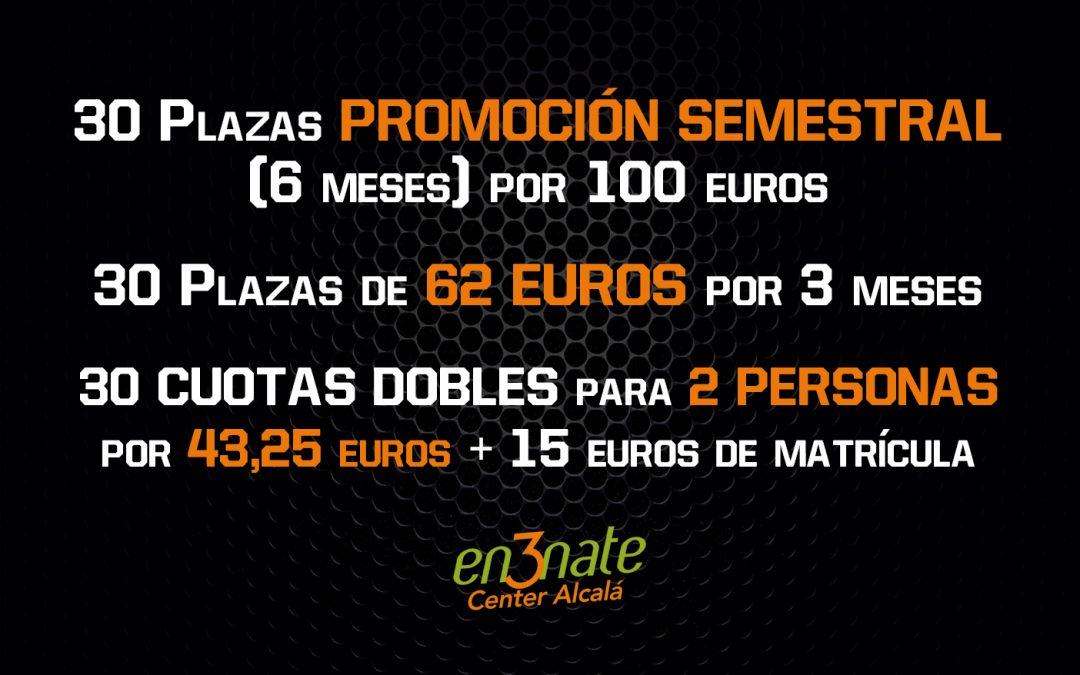 Ofertas del 2 al 10 de Enero de 2020 en En3nate Center Alcalá