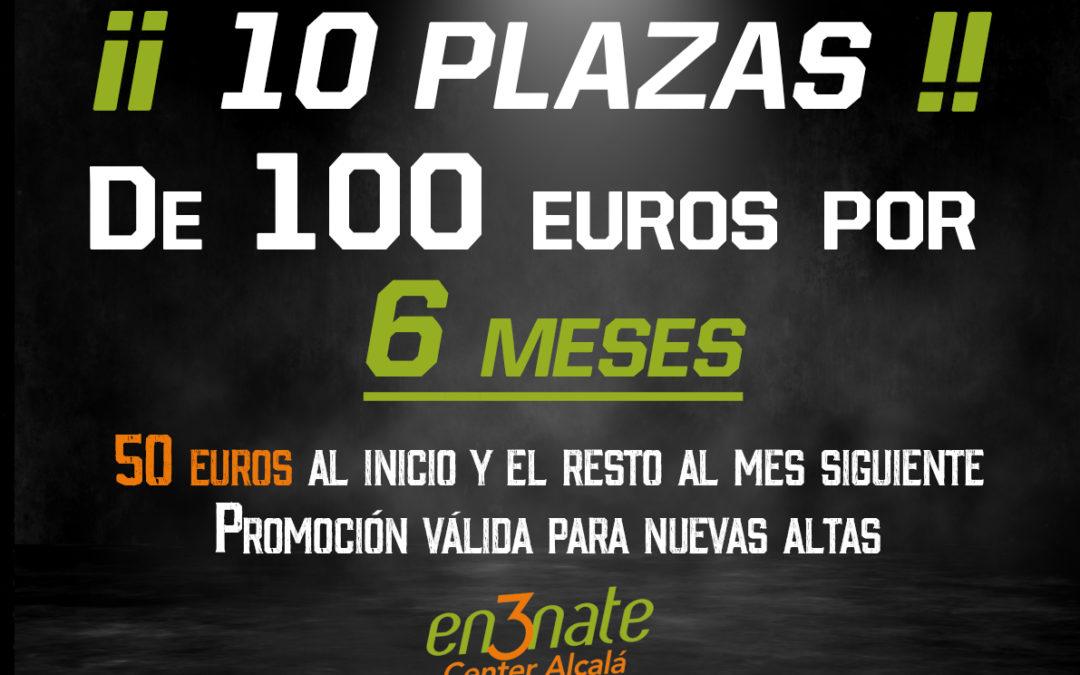 Promociones del 2 al 10 de MARZO de 2020 en En3nate Center Alcalá para NUEVAS ALTAS